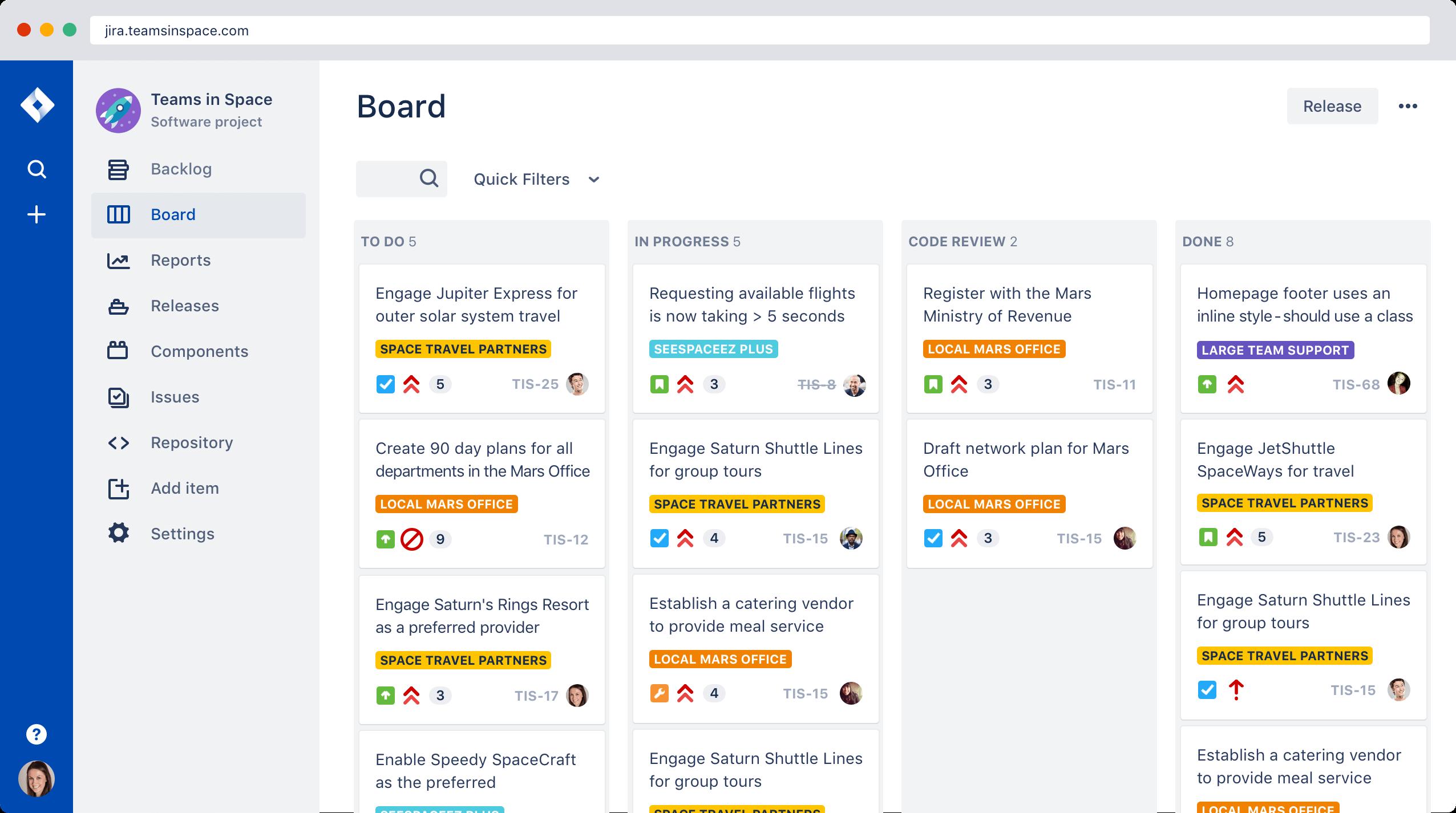 Minitip: Crear un proyecto nuevo en JIRA con datos de muestra