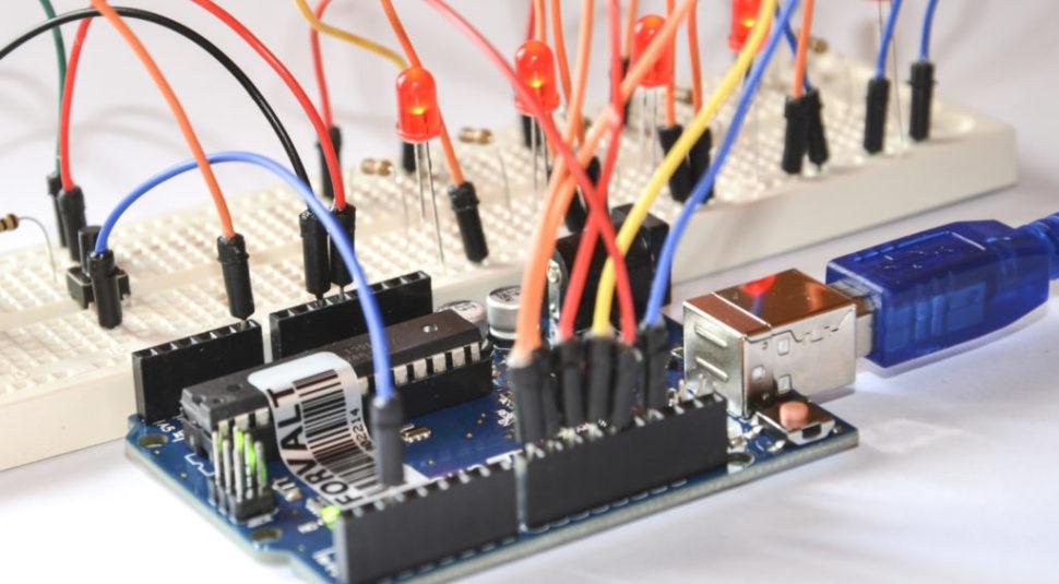 Proyecto con Arduino: 'fading' de LEDs 2.0: LEDs RGB