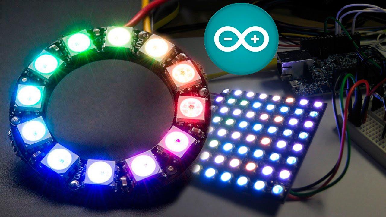 Proyecto con Arduino: luces y audio con WS1812 (neopixel) y nueva biblioteca de reproducción de audio